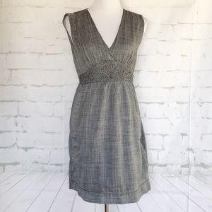 Max Studio Heather Gray Sleeveless Dress.  Medium